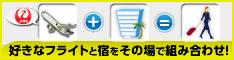 ホテルパック(ANA/JAL航空券+ホテル)予約