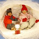 親子で行く冬の体験旅行ツアー