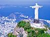 キリスト像が立つ「コルコバードの丘」から絶景を眺める!