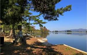 徳良湖「花笠の湯」