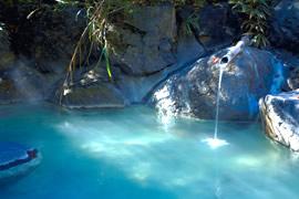 温泉でほっこり