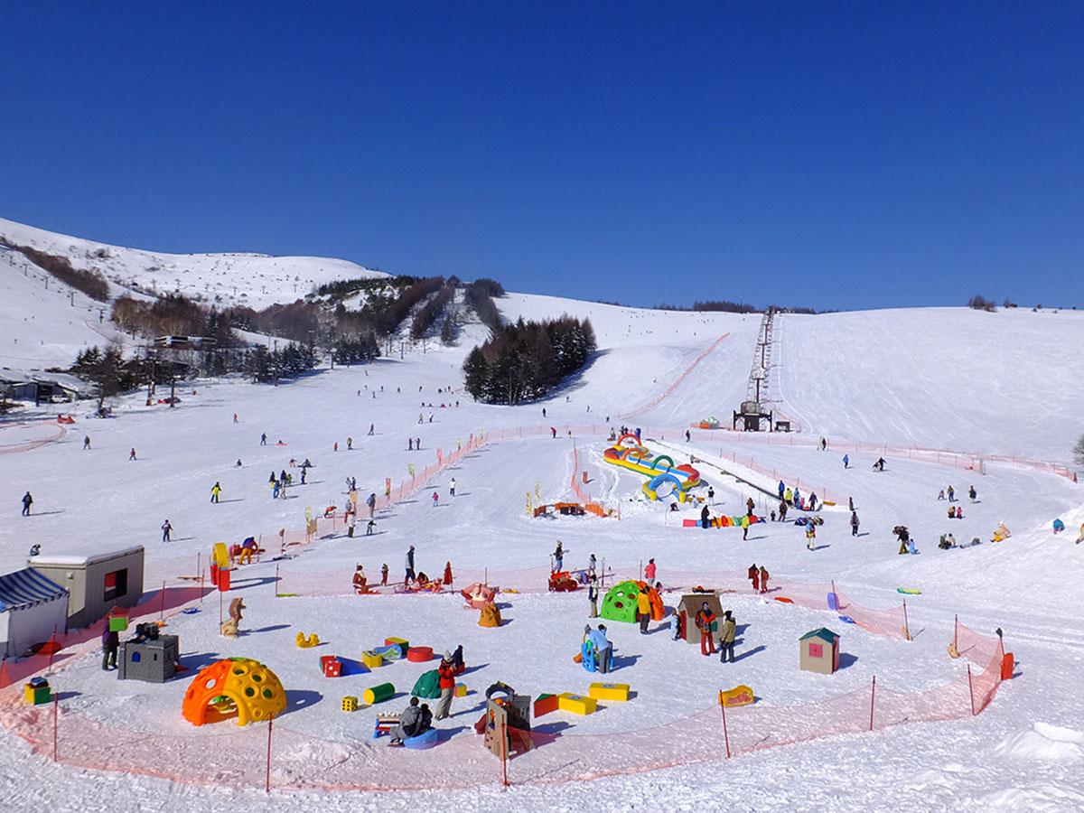 車山高原SKYPARKスキー場のゲレンデ写真