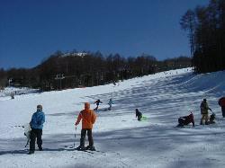湯の丸スキー場のゲレンデ写真