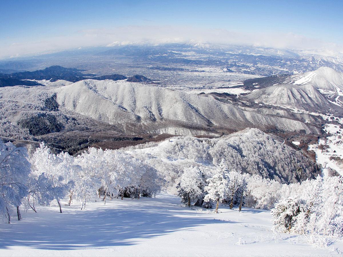 竜王スキーパークのゲレンデ写真