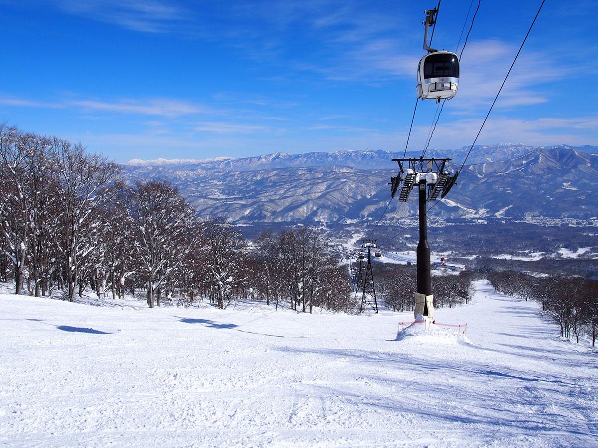 赤倉観光リゾートスキー場のゲレンデ写真