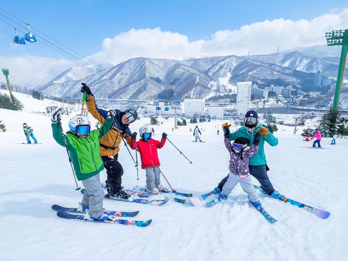 苗場スキー場のゲレンデ写真