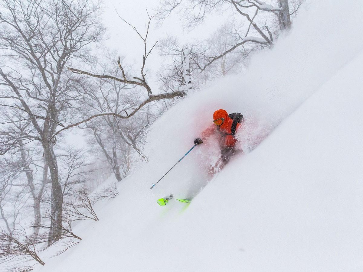 かぐらスキー場のゲレンデ写真