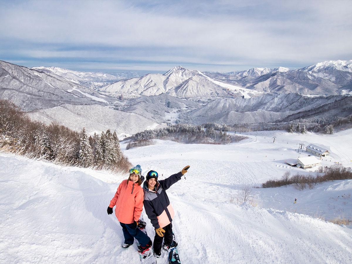 神立高原スキー場のゲレンデ写真
